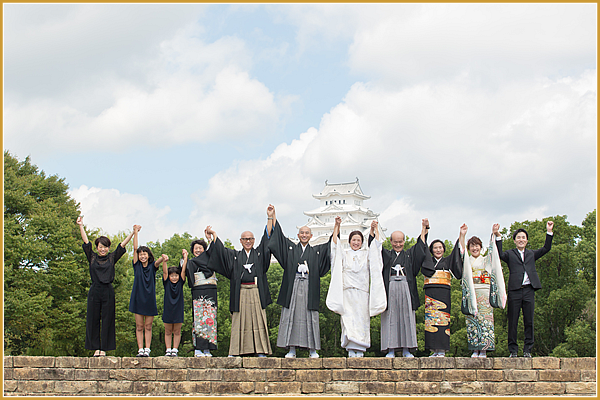 姫路城撮影