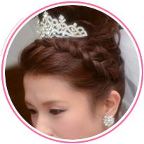 髪飾りアイテム